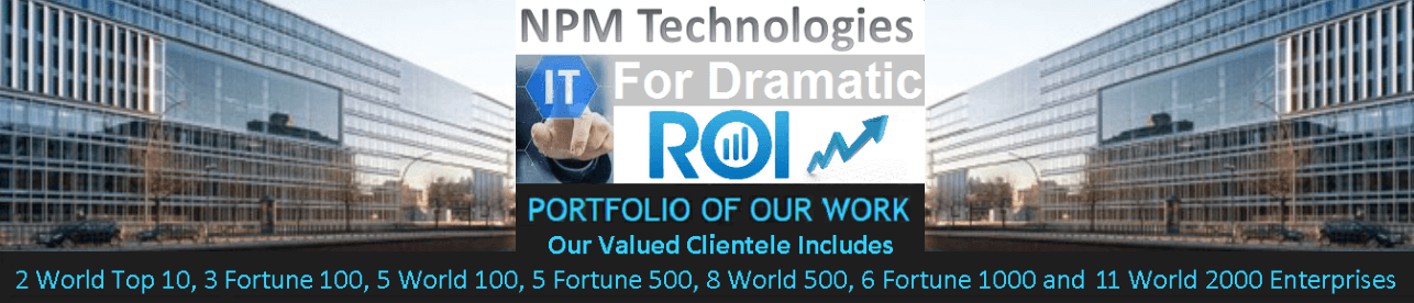 NPM Technologies - IT For Dramatic Return On Investment